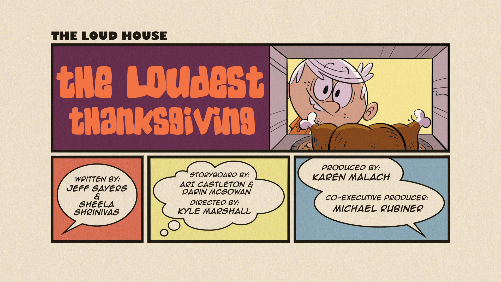 The Loudest Thanksgiving   Other Holiday Specials Wiki   Fandom