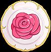 Royal Rose Dish Shield 60
