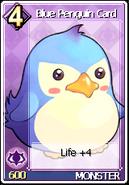 Card Blue Penguin Card