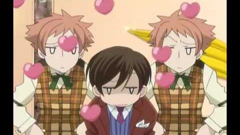 Ouran high school host club funny moments
