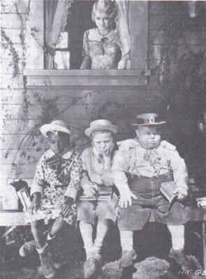 Farina, Chubby, Jackie and Miss Crabtree