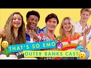 The Cast of Outer Banks Compete To See Who's The Best Actor - That's So Emo - Cosmopolitan