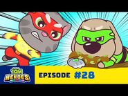 Talking Tom Heroes - The Angry Hero (Episode 28)
