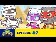 Talking Tom Heroes - The Curse of the Pyramid (Episode 7)