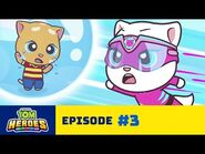 Talking Tom Heroes - Giant Bubble Trouble (Episode 3)