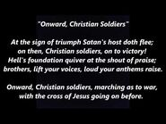 ONWARD CHRISTIAN SOLDIERS Hymn Lyrics Words text trending sing along song music