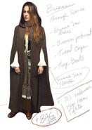 Brianna's Time Travel Outfit Notes