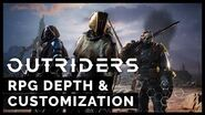 Outriders - RPG Depth & Customization