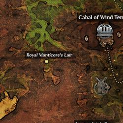 Royal Manticores Lair Map.png