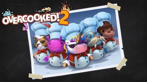 Overcooked! 2 - Pre-order Bonus Chefs (Steam, Nintendo Switch, PlayStation 4, Xbox One)