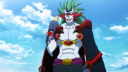 The Demon King holding Nona