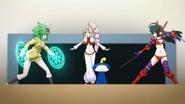 Kusabi preventing the fight