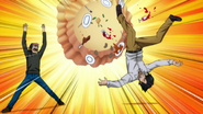 Haruto flipping the table