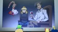 Seijirou holding Haruto as hostage