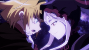 Arche y Shalltear Overlord lll EP 08