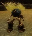 Undead Swordsman really really damaged