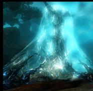 Oberon Evernight Tree shielded