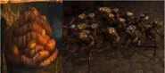 Brown hive minions
