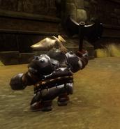 Dwarf Warrior back