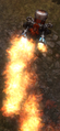 Overlord Dwarven Flamethrower Attacking