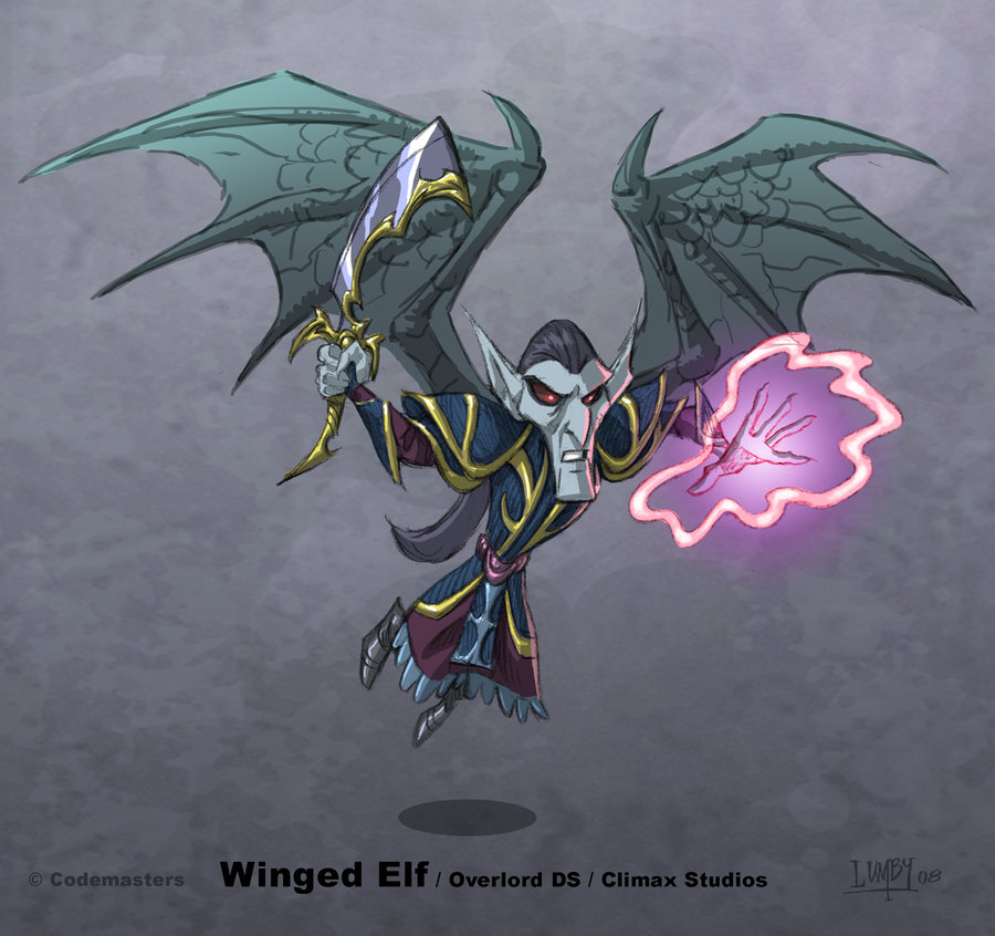 Winged Elf