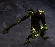 Dark green minion