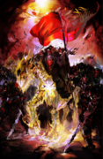 Overlord Volume 9 Raw Cover