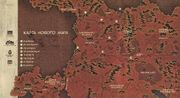 Карта Нового мира