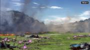 Battlefield Against Chaos Beasts