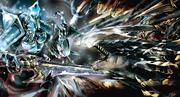 Cocytus vs Lizardman Heroes