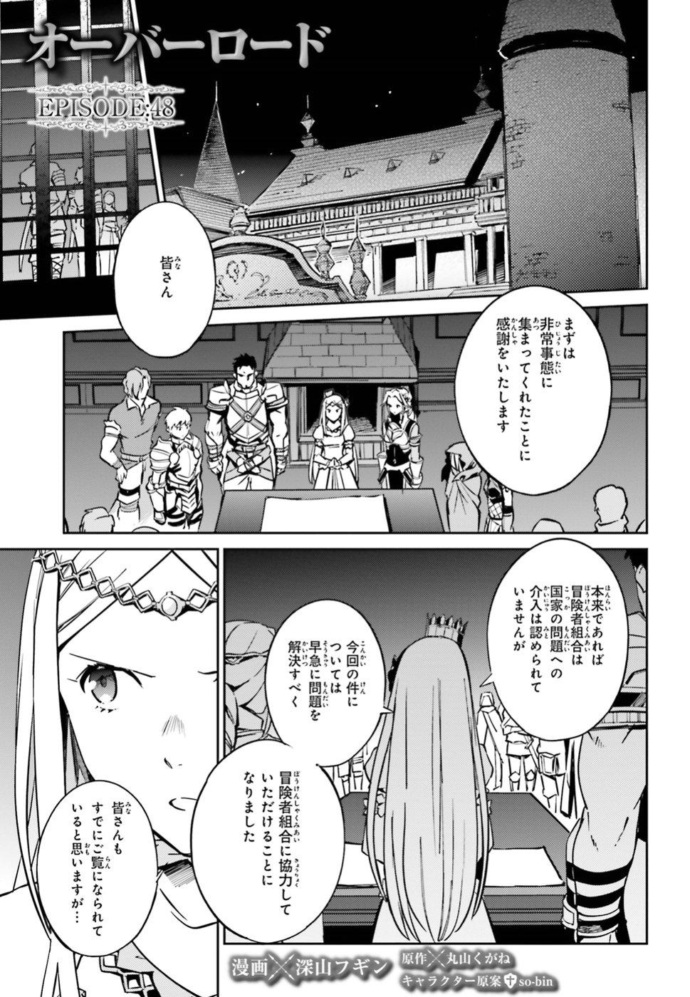 Overlord Manga Chapter 48