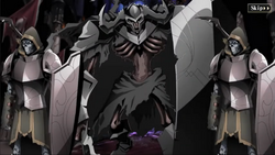 Nazarick Old Guarders and Death Knight.png