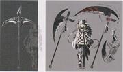 Zesshi and her weapon design