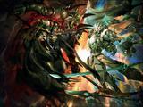 Ainz Ooal Gown vs Riku Aganeia