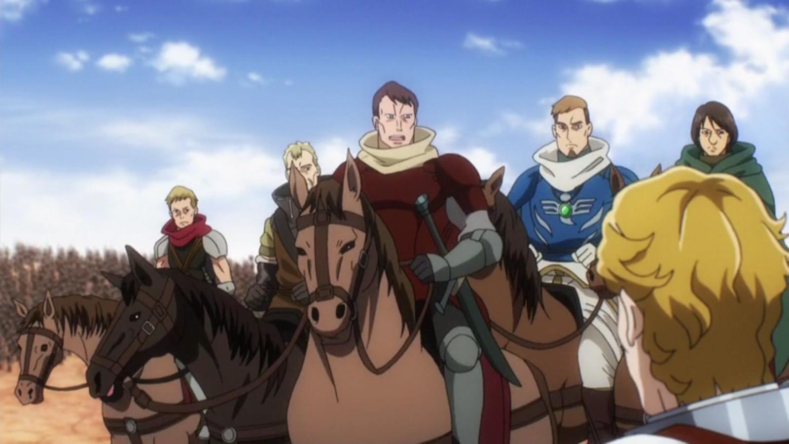 Marquis Raeven's Adventurer Team