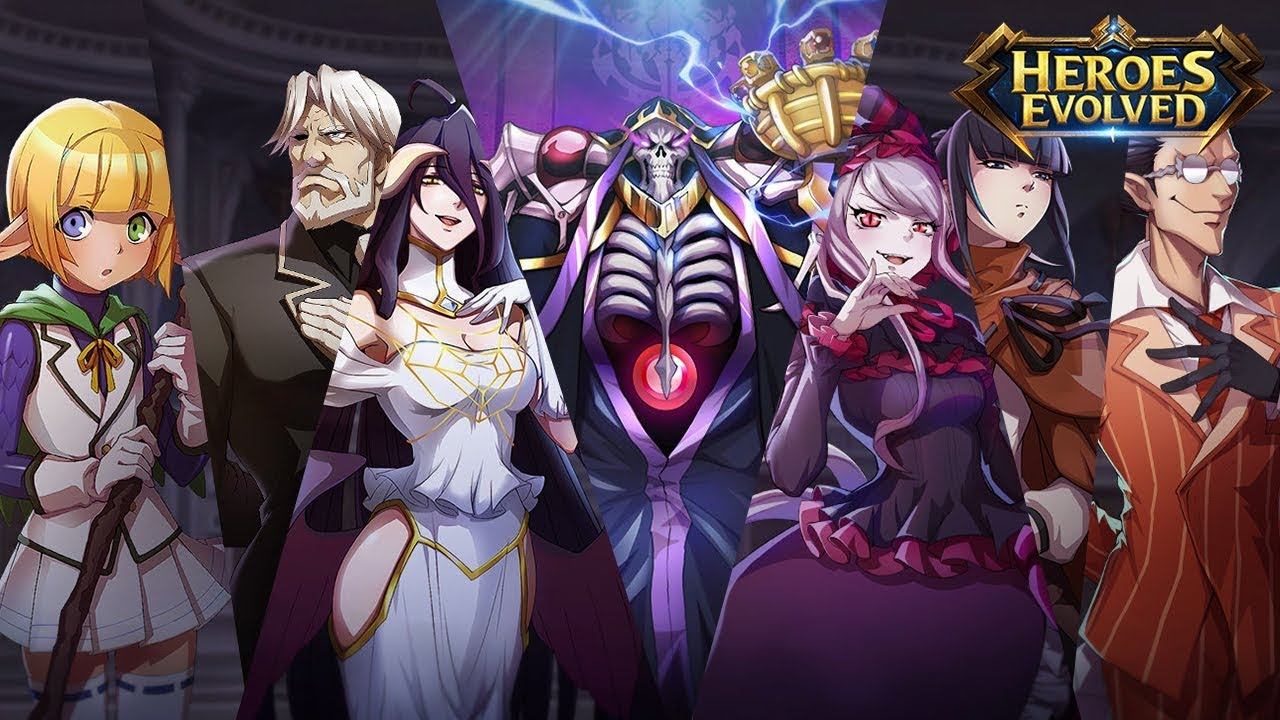 Heroes Evolved X Overlord
