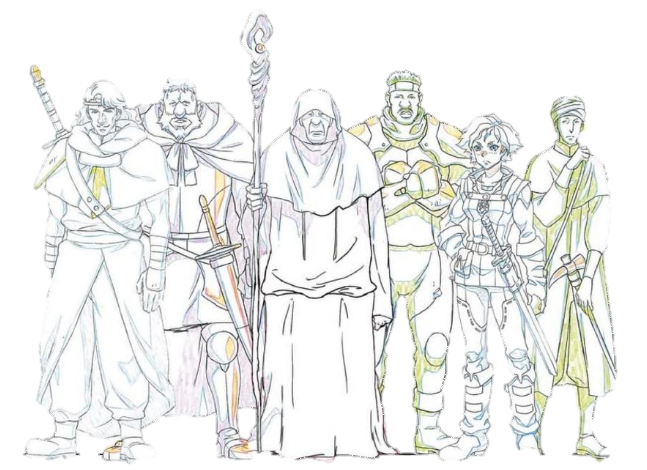 Brita's Adventurer Team