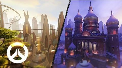 Volskaya Industries and Numbani Map Preview Overwatch