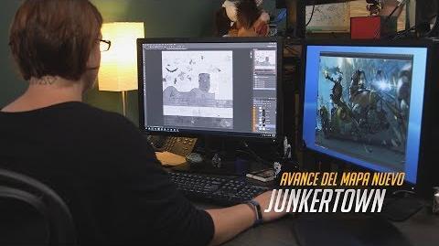 Avance del mapa nuevo Junkertown (subtitulado)