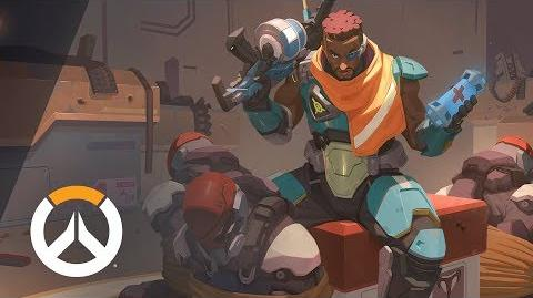 NEW HERO – COMING SOON Baptiste Origin Story Overwatch