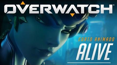 """Corto animado de Overwatch """"Alive"""""""