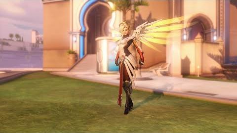 Overwatch Mercy emote - Heroic