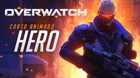 "Corto animado de Overwatch ""Hero"""