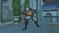 Doomfist - Pumpkin victory post - Overwatch