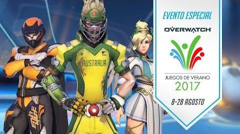 Evento de temporada Juegos de Verano 2017