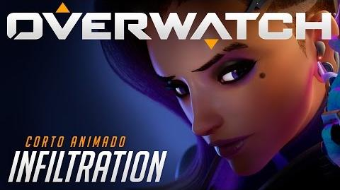 "Corto animado de Overwatch ""Infiltration"""