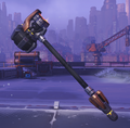 Reinhardt Skin Copper Weapon 1.png