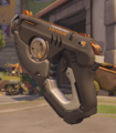 Tracer Skin Overwatch League Gray Weapon 1.png