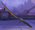 Genji Skin Overwatch League Gray Weapon 2.png