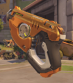 Tracer Skin Golden Gun Overwatch League Gray.png